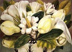 Magnolias - (Frida Kahlo)