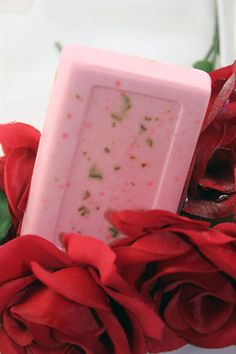 Organic Rose, Frankincense, Myrrh Artisan Soap for Ritual Bath, Moontime, Red Tent, Body Smudging, Isis, Aphrodite, Pagan Wiccan Goddess by ChrysalisGoddess, $5.00