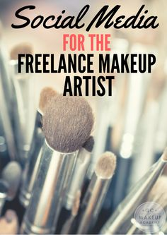 Social media can do SO much for your freelance makeup business — read on to find out! The post Social media can do SO much for your freelance mak… appeared first on Woman Casual - Makeup Recipes Makeup Artist Resume, Makeup Artist Tips, Freelance Makeup Artist, Makeup Artist Business Cards, Makeup Artists, Ride Or Die, Makeup Artist Starter Kit, Bobbi Brown, Concealer