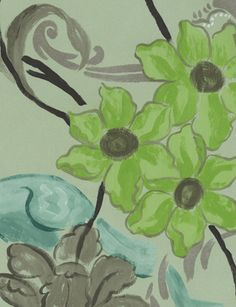 Whitewell wallpaper from Designers Guild