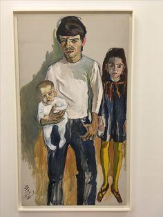 Family (Algis, Julie, Baily) , Alice Neel, 1968