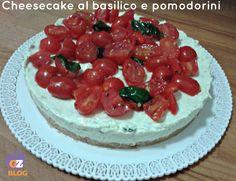 http://blog.giallozafferano.it/lacucinadimilena/cheesecake-al-basilico-e-pomodorini/ La cheesecake al basilico e pomodorini è una deliziosa torta salata che si prepara proprio come la cheesecake dolce,ed è ottima come antipasto o secondo piatto,quando volete stupire i vostri ospiti.