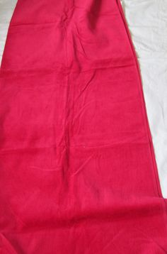100/% Cotton Pink Fabric 42 Inches Width Quilt//Craft Solid Print Drape By 1 Mtrs
