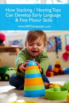 . Stacking toys – Oh how I love thee! Let me count (and stack) the ways.  Don't be deceived – these seemingly simple toys pack a big punch when it comes to early learning develo…