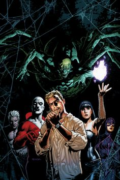 Justice League Dark. A team of occult detectives, renegade sorcerers, demons, and the strange take on the things that go bump in the night. Start with Justice League Dark Vol. 1: In the Dark.