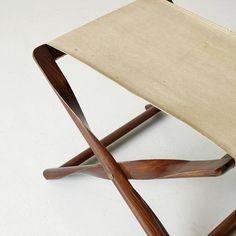 KAARE KLINT, a Propeller stool for Rud Rasmussen, designed in 1930