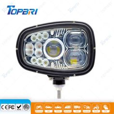 Best Lighting 96W Head Truck Trailer Work Light LED Indicator Auto Lamps on Made-in-China.com Led Work Light, Work Lights, Light Led, Stainless Steel Brackets, Chips Brands, Security Tools, How To Make Box, Expedition Vehicle, High Beam