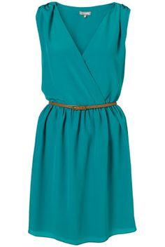 topshop crossover dress