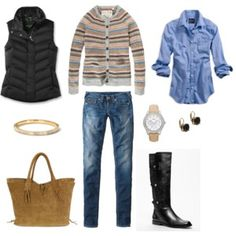 Skinnies and boots - Polyvore