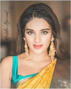 Beautiful Bollywood Actress, Most Beautiful Indian Actress, Beautiful Actresses, Beautiful Girl Photo, Beautiful Models, Beautiful Eyes, Hot Actresses, Indian Actresses, Nidhi Agarwal Actress
