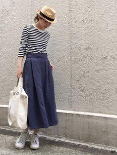完全保存版♡ママなのにママに見えないコーデのコツ - LOCARI(ロカリ) Japanese Fashion, Korean Fashion, Japanese Style, Korean Style, Girl Fashion, Fashion Outfits, Womens Fashion, Long Skirt Fashion, Diy Clothes