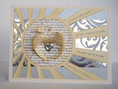 Kara Lynne's Card Designs: Apples of Gold in Settings of Silver