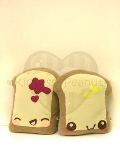 Raspberry Jam Buttered Toast by kickass-peanut.deviantart.com on @deviantART