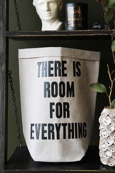 There Is Room For Everything Paper Bag from Rockett St George