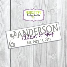wedding wood sign  family name sign  last by Perfect2DesignStudio
