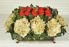 Rose and Hydrangea Tole