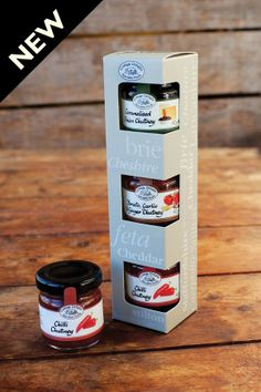 Cottage Delight Chutneys for Cheese are an ideal gift. Perfectly portioned for a…