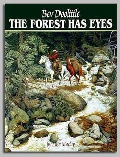 The Forest Has Eyes: DIV Find hidden stories and pictures in these paintings of Native Americans and the western wilderness. Eighty-three thousand copies sold. Hidden Art, Hidden Images, Hidden Pictures, Illusion Kunst, Illusion Art, Art Optical, Optical Illusions, Native Art, Native American Art