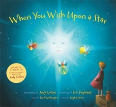 When You Wish Upon a Star  Music by Ned Washington  Words by Leigh Harline  Illustrated by Eric Puybaret - Learn more here: http://singbookswithemily.wordpress.com/2011/08/29/when-you-wish-upon-a-star-a-singable-picture-book/