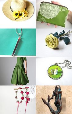 Sunflower by LeatherAndRoses on Etsy--Pinned with TreasuryPin.com