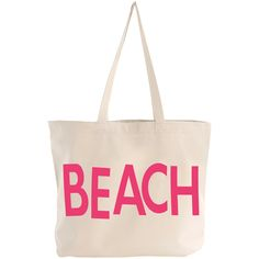 Beach Tote Pink :  I need some oversized market totes!