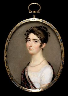 Dames a la Mode: ANOTHER Regency Hairstyle...This time with how-to