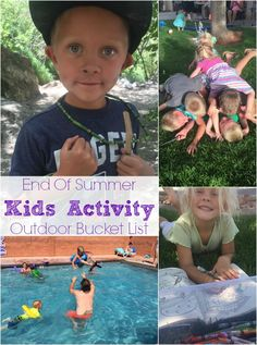 kids activity bucket list #Ad #MyFilthiestPlay