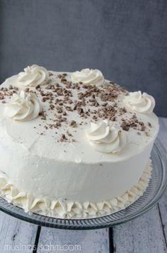 The Best Bailey's Irish Cream Cake