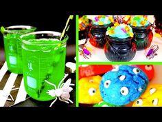 DIY Halloween Party Treats! Edible Slime, Brains & MORE! - YouTube