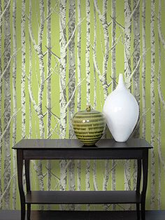 Trees Wallpaper from the Eco Chic Collection design by Seabrook Wallcoverings
