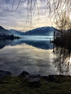 Zell am see, austria, lake, Travelling