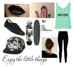 """""""'Enjoy the little things'"""" by camryn-curryy ❤ liked on Polyvore featuring art"""