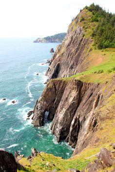 The Oregon Coast on a beautiful day.