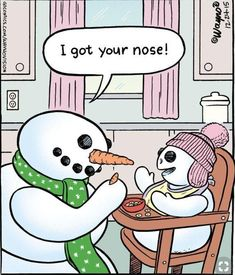 17 Ideas Funny Christmas Comics Kids For 2019 Funny Christmas Cartoons, Funny Cartoons For Kids, Christmas Comics, Cartoon Kids, Christmas Humor, Daily Cartoons, Snowman Jokes, Snowman Cartoon, Super Funny