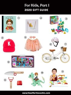 Our 2020 Gift Ideas for Kids — Stem Toys, Kid's Cooking Tools, Legos and More! Find More Gift Guides at TheEffortlessChic.com