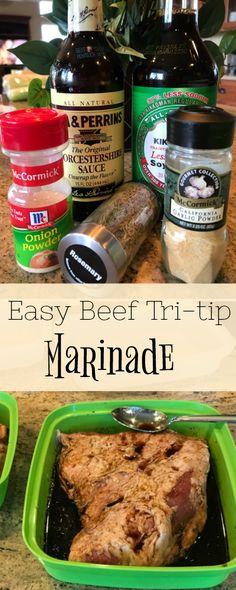 Easy Beef Tri-Tip Marinade
