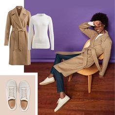 Das neue Lila #hessnatur #purple #trend #fashion #coat #caramel