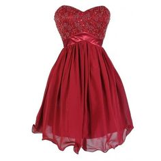 Lily Boutique Burgundy Wine Sparkle Embellished Designer Dress ($45) ❤ liked on Polyvore featuring dresses, red spaghetti strap dress, sparkle dresses, burgundy party dress, burgundy dress and red party dresses