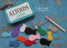 Tutorial : Make a Mini Magnetic Fishing Game Set