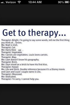 Therapy time