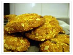 A.N.Z.A.C. Biscuits.! Yum! Going to be making these on Tuesday for A.N.Z.A.C. Day - Wed 25 April. ~Lest We Forget~