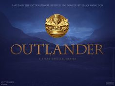"""New Graphic for the 'Outlander' TV Series"" -- The click through is a blog dedicated to the series, ""Outlander TV News."""