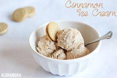 Alohamora: Open a Book: Cinnamon Ice Cream {Egg, Nut, and Gluten Free} Cinnamon Ice Cream, Pumpkin Ice Cream, Pumpkin Pumpkin, Egg Free Ice Cream Recipe, Ice Cream Recipes, Ice Cream Images, Cinnamon Recipes, Creamed Eggs, Homemade Ice Cream