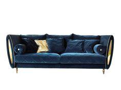 3 seater fabric sofa SIPARIO   3 seater sofa by ADORA