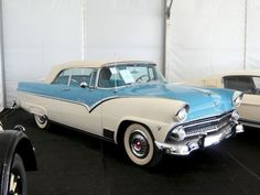 1955 Ford Fairlane Sunliner Convertible Maintenance of old vehicles: the material for new cogs/casters/gears/pads could be cast polyamide which I (Cast polyamide) can produce