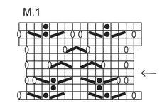 """Mitones DROPS para Navidad tejidos con patrón de calados, en """"Fabel"""". ~ DROPS Design"""