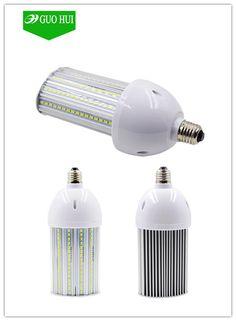 Semi Moon shape LED Street corn light bulb 180degree with optical lense