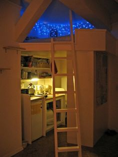 Deciding to Buy a Loft Space Bed (Bunk Beds). – Bunk Beds for Kids Dream Rooms, Dream Bedroom, Bedroom Loft, Bedroom Decor, Master Bedroom, Loft Room, Night Bedroom, Teen Bedroom, Pretty Bedroom