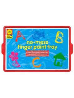 Little Hands No-Mess Finger Paint Tray   $19.99