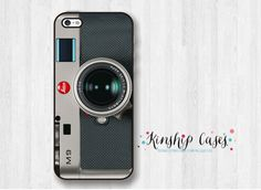 Camera iPhone 4/4s Cell Phone CaseRetro iPhone di KinshipCases
